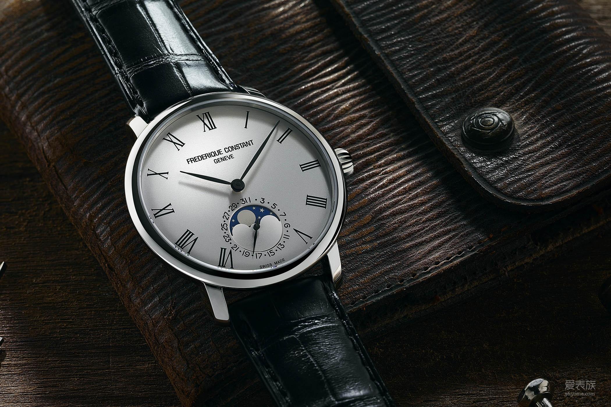 捂住你的钱包——康斯登Manufacture系列超薄月相腕表