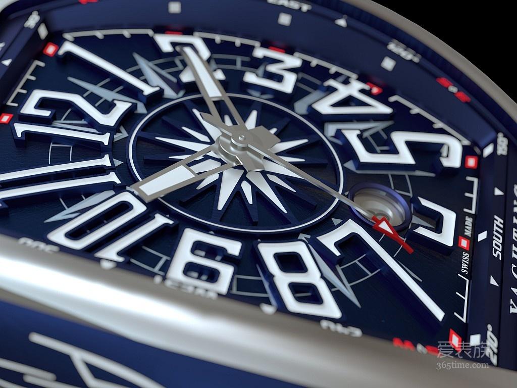 以精湛制表工艺向航海世界致敬-FRANCK MULLER Vanguard Yachting腕表
