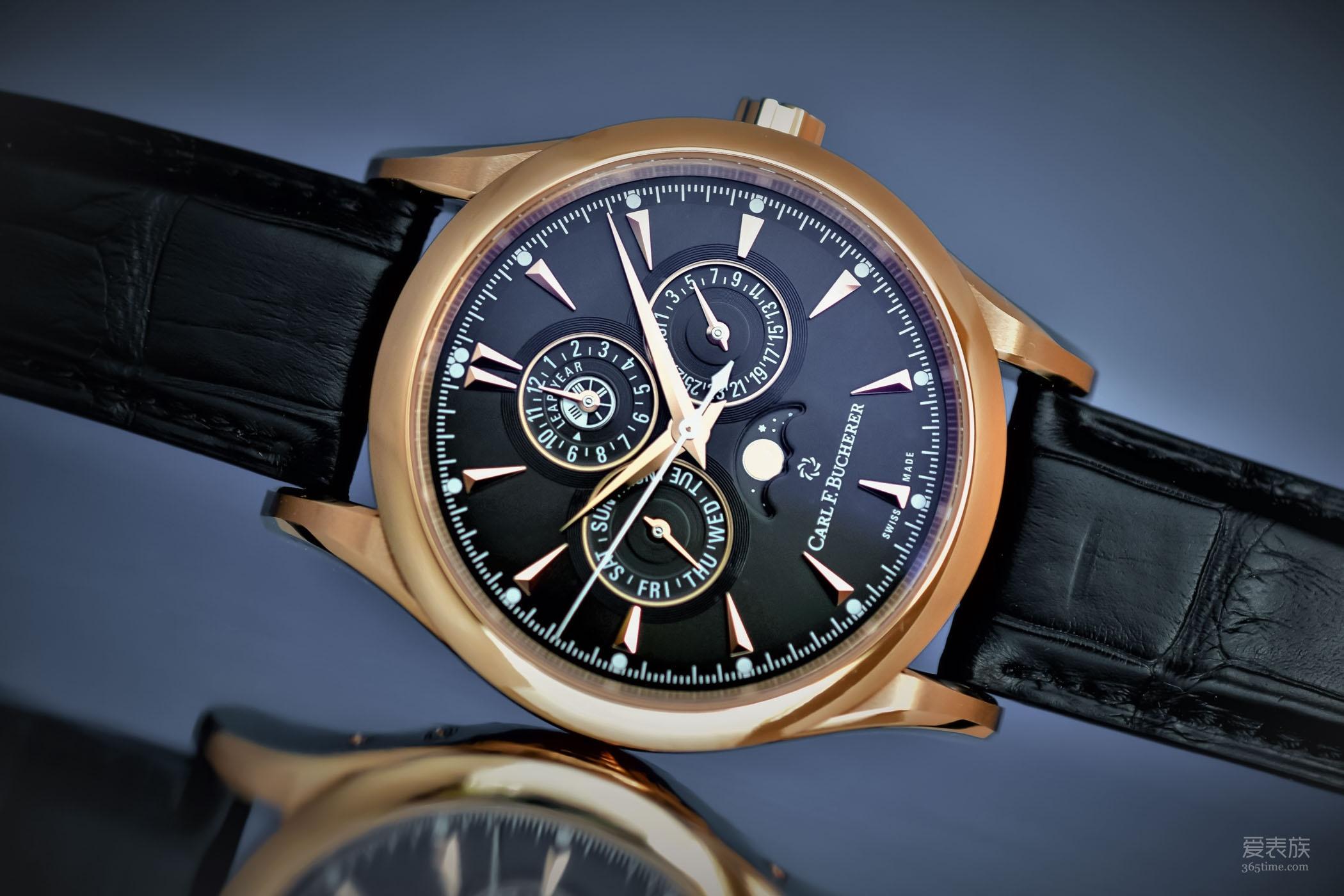 我的万年历时尚时尚最时尚——全新宝齐莱马利龙系列万年历限量版腕表