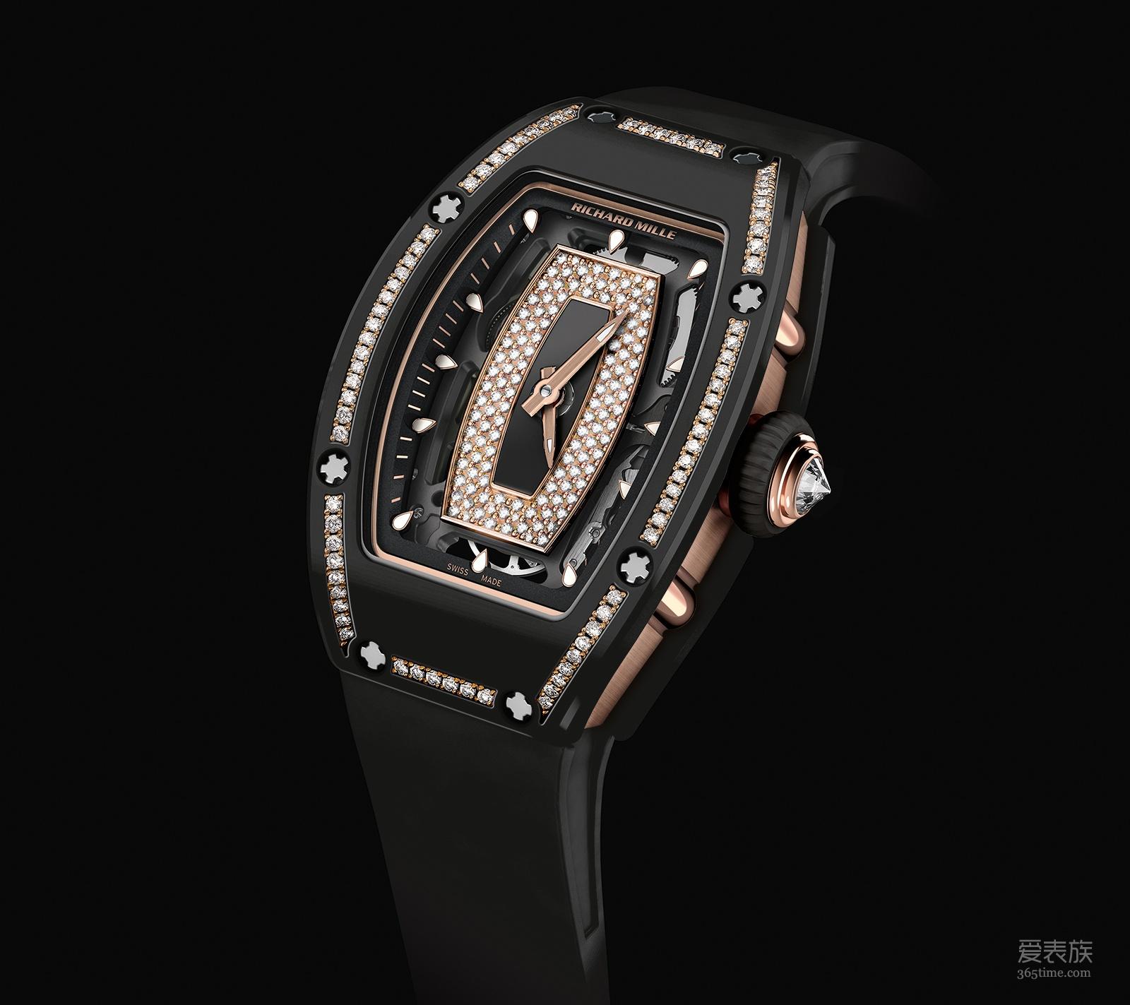 陶瓷镶钻,前所未见——理查德米勒RM 07-01腕表