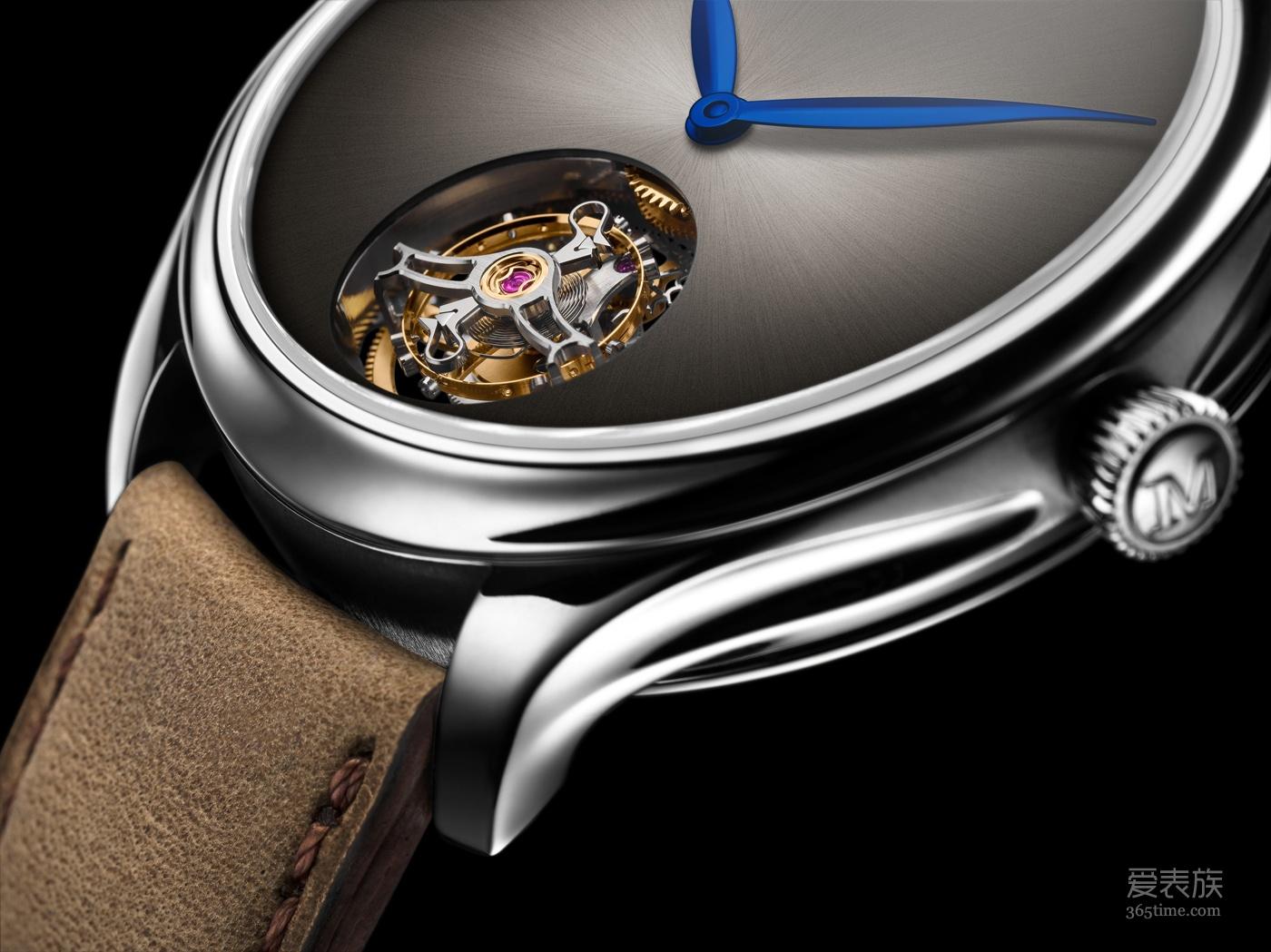 2018 年日内瓦国际高级钟表展 H. MOSER & CIE. 亨利慕时勇创者陀飞轮概念腕表