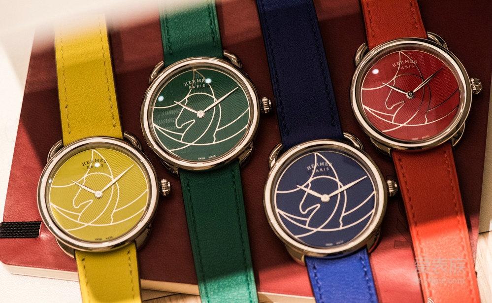 2018年日内瓦国际高级钟表展 爱马仕Arceau Casaque腕表