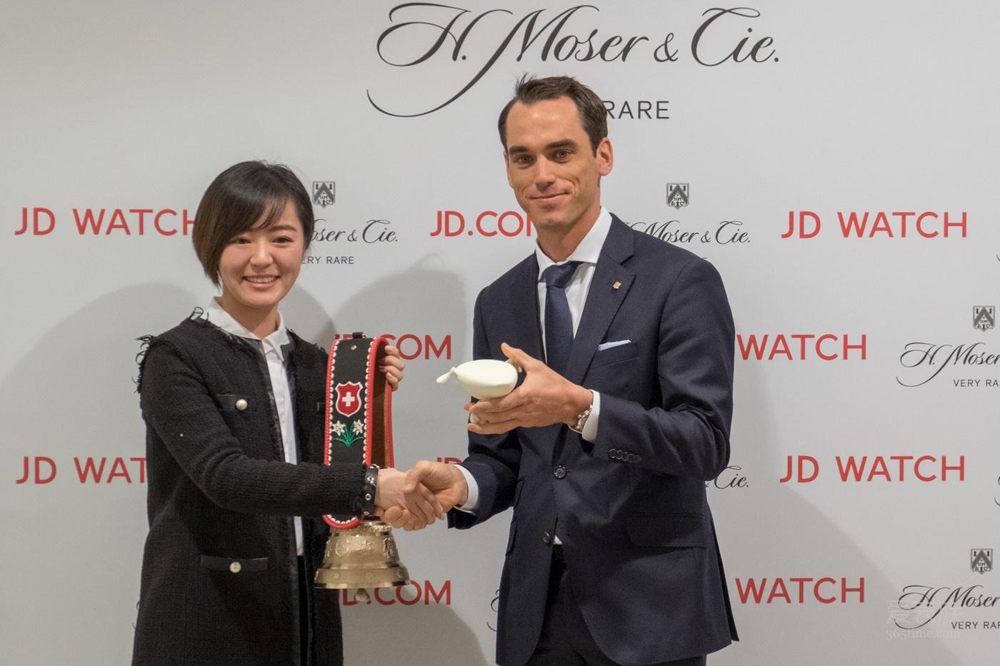 2018 年日内瓦国际高级钟表展 H. MOSER & CIE. 亨利慕时入驻京东 迎接全新电商时代