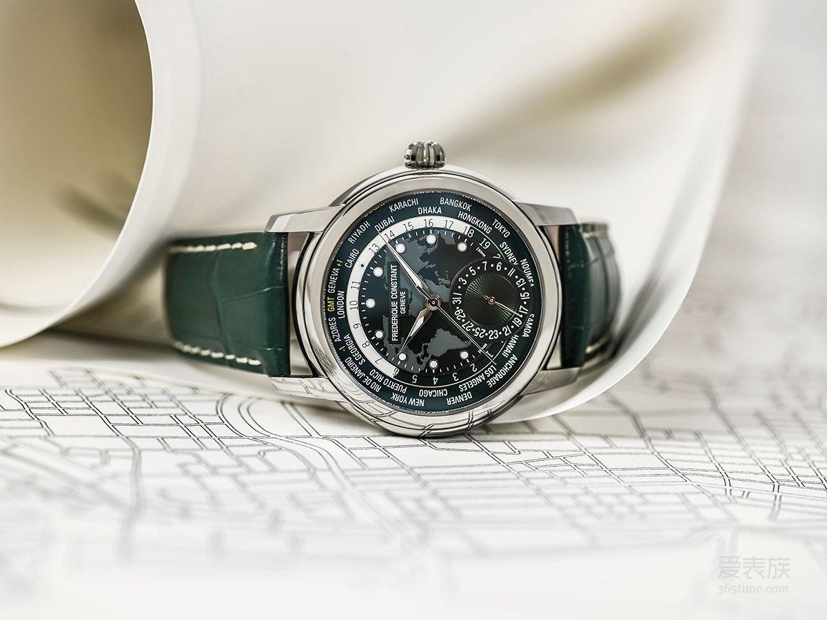 2018年Baselworld抢先看  康斯登自制机芯经典世界时区腕表