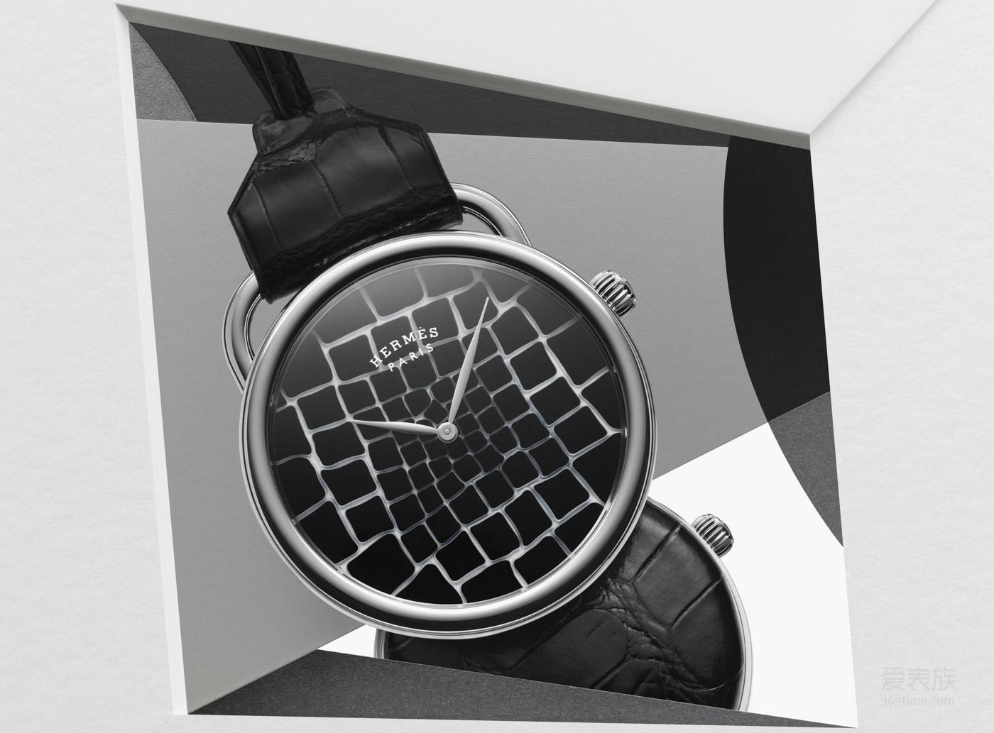 2018 年日内瓦国际高级钟表展 爱马仕推出令人目眩神迷的Arceau Pocket Millefori怀表