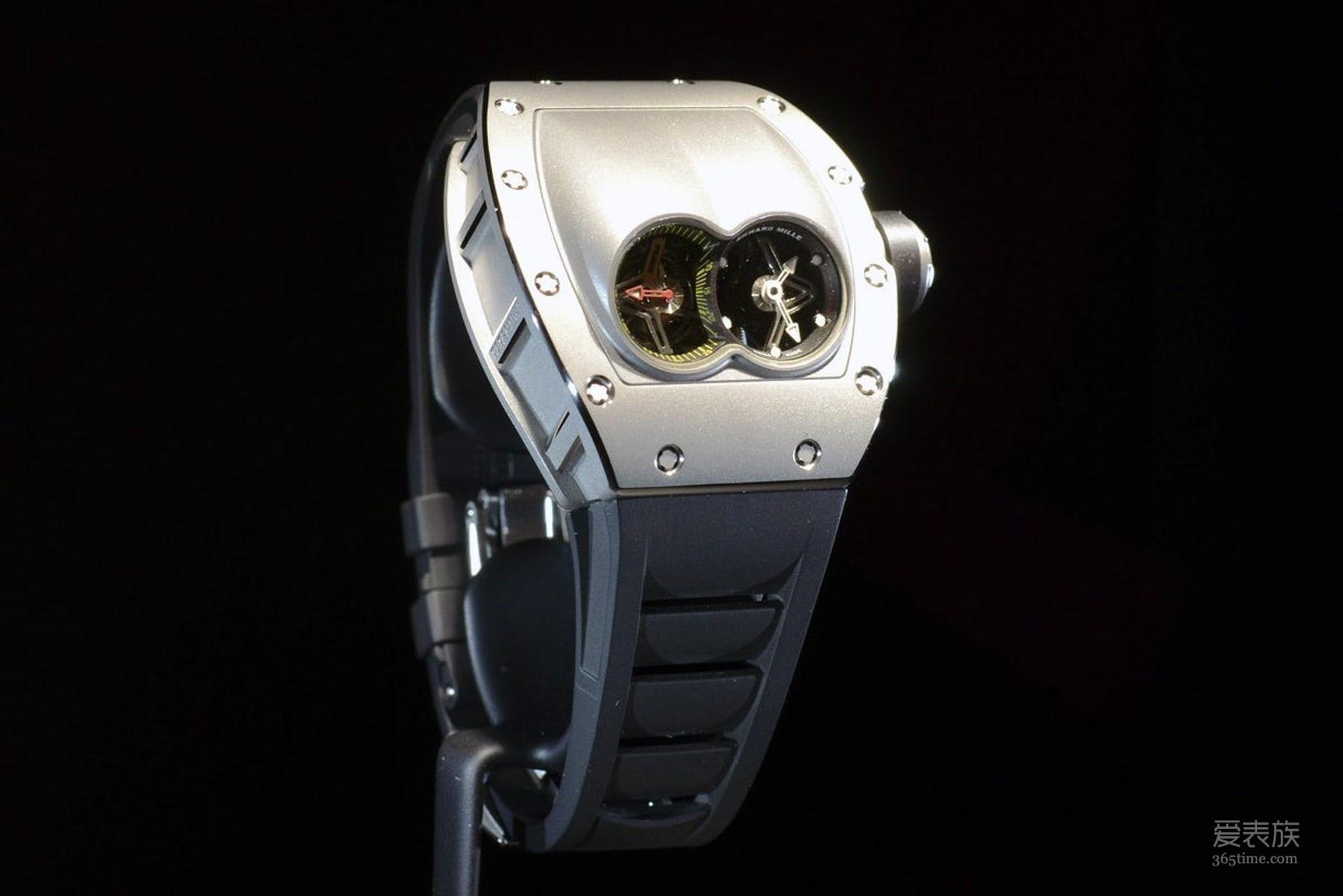 """最适合""""激情碰撞""""的腕表-理查德米勒RM53-01 Pablo Mac Donough陀飞轮"""
