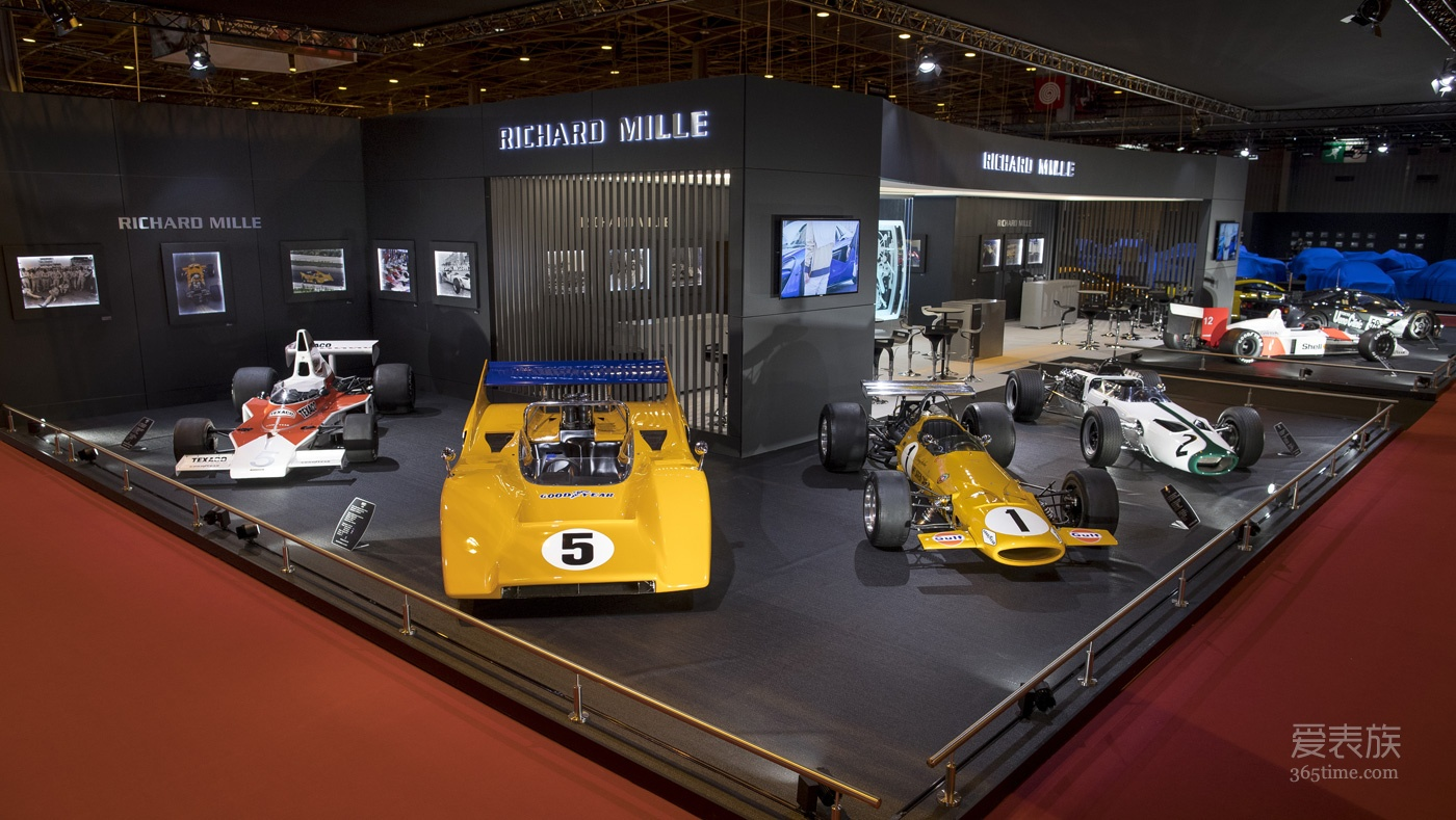 RéTROMOBILE 2018: RICHARD MILLE携手McLaren呈现精彩展览