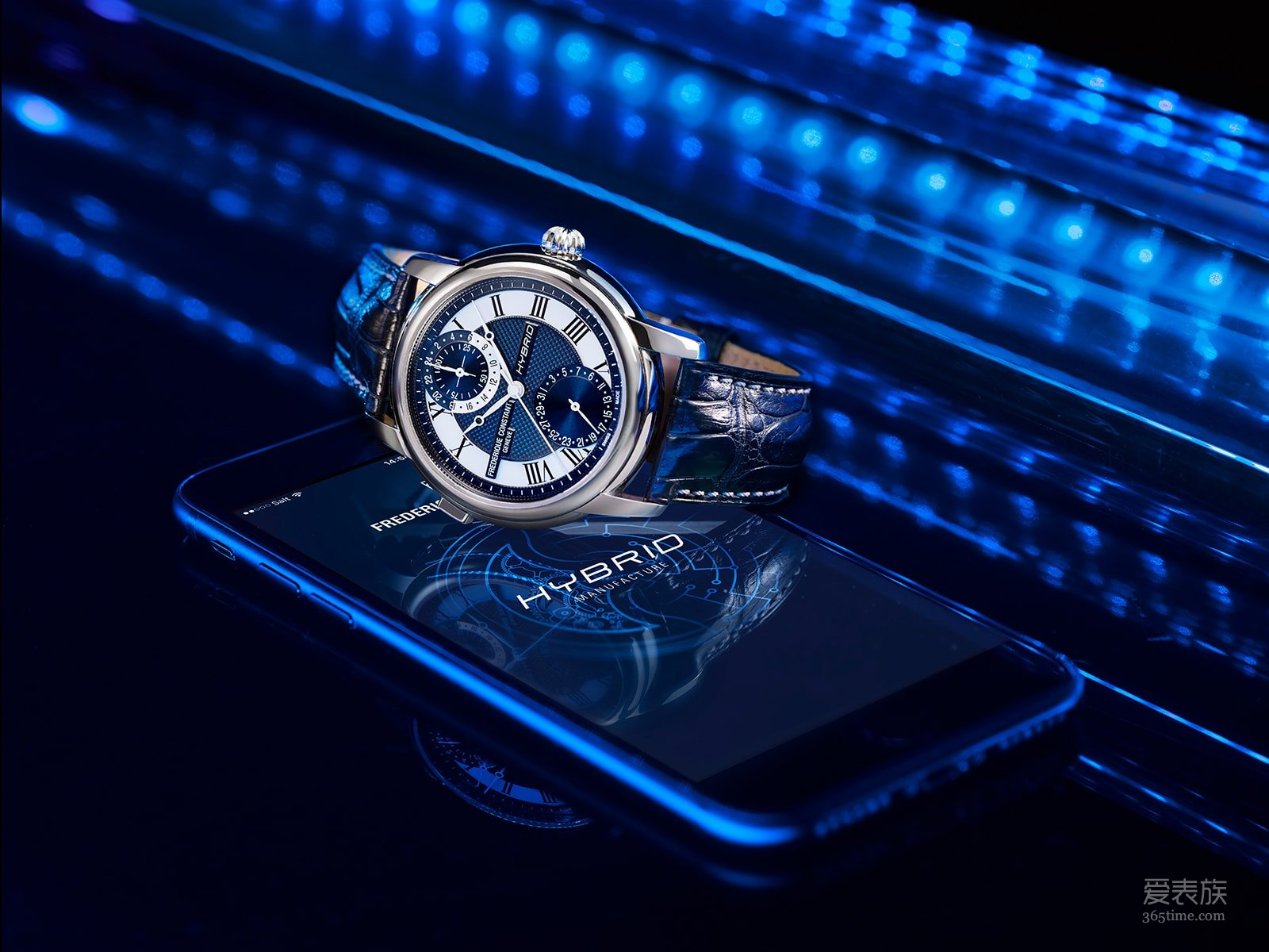智能的瑞士机械表——康斯登Hybrid Manufacture混合智能3.0腕表