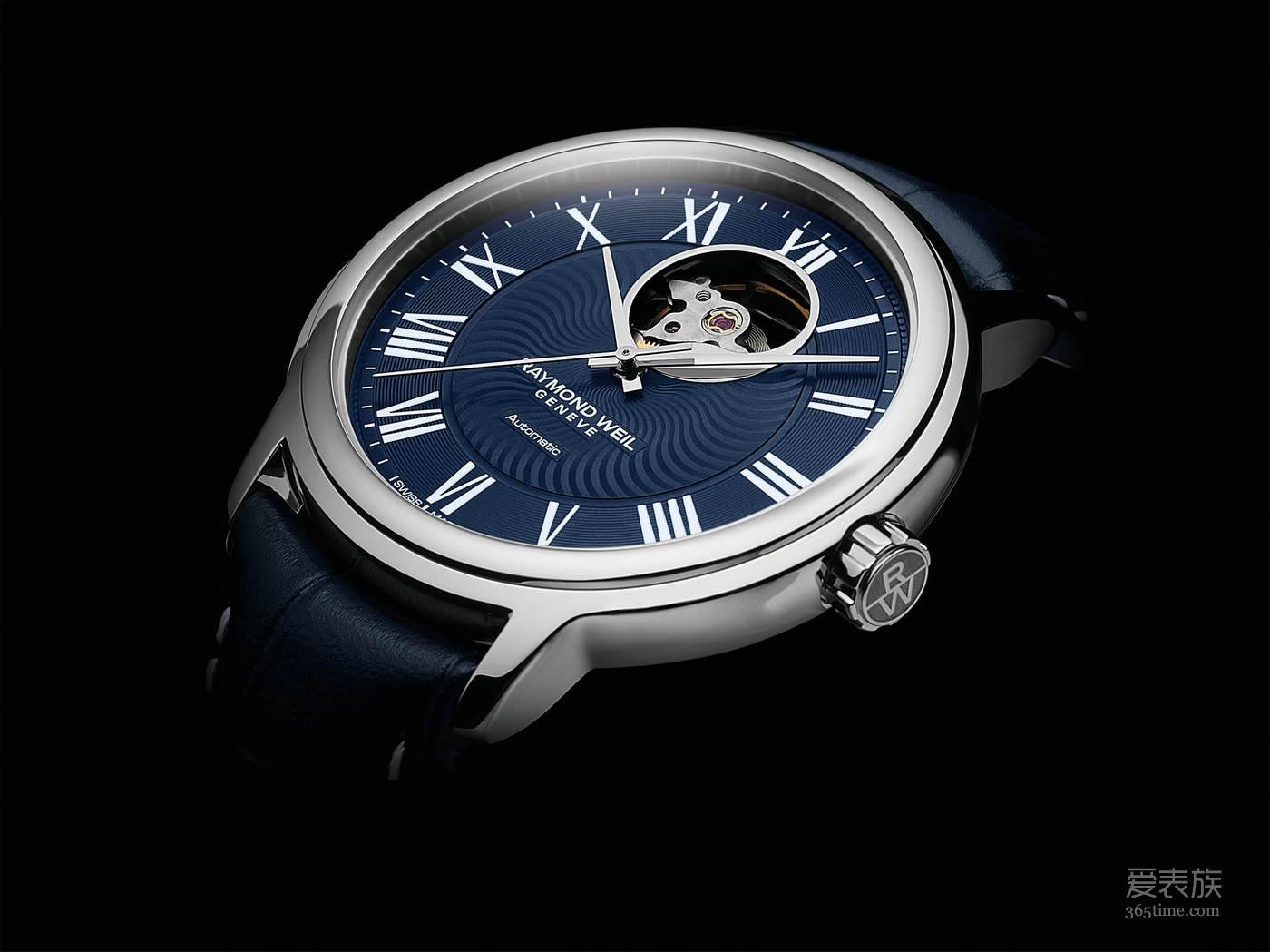 以蓝调音乐为灵感 蕾蒙威呈献经典大师湛蓝系列腕表