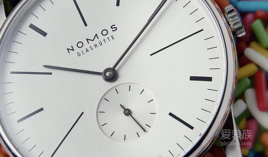 荷兰风格派-Nomos Orion 100周年限量款Orion De Stijl腕表
