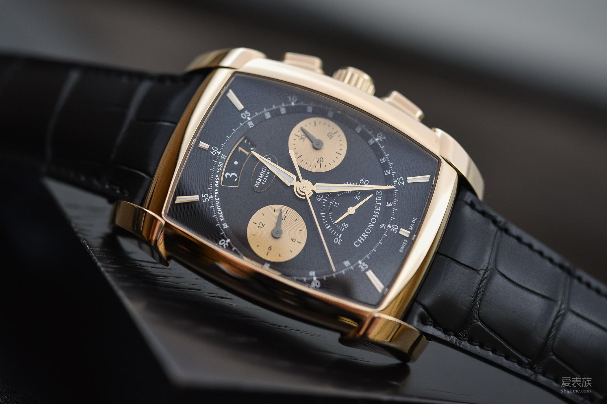 """被""""米达斯之手""""触碰过的手表——帕玛强尼Kalpa系列Chronor计时腕表"""
