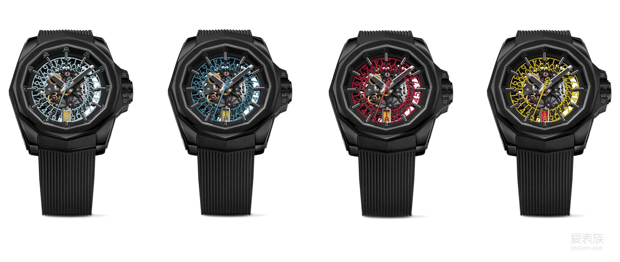 [2018巴塞尔钟表展】CORUM昆仑表巴塞尔钟表展推出全新海军上将系列镂空腕表