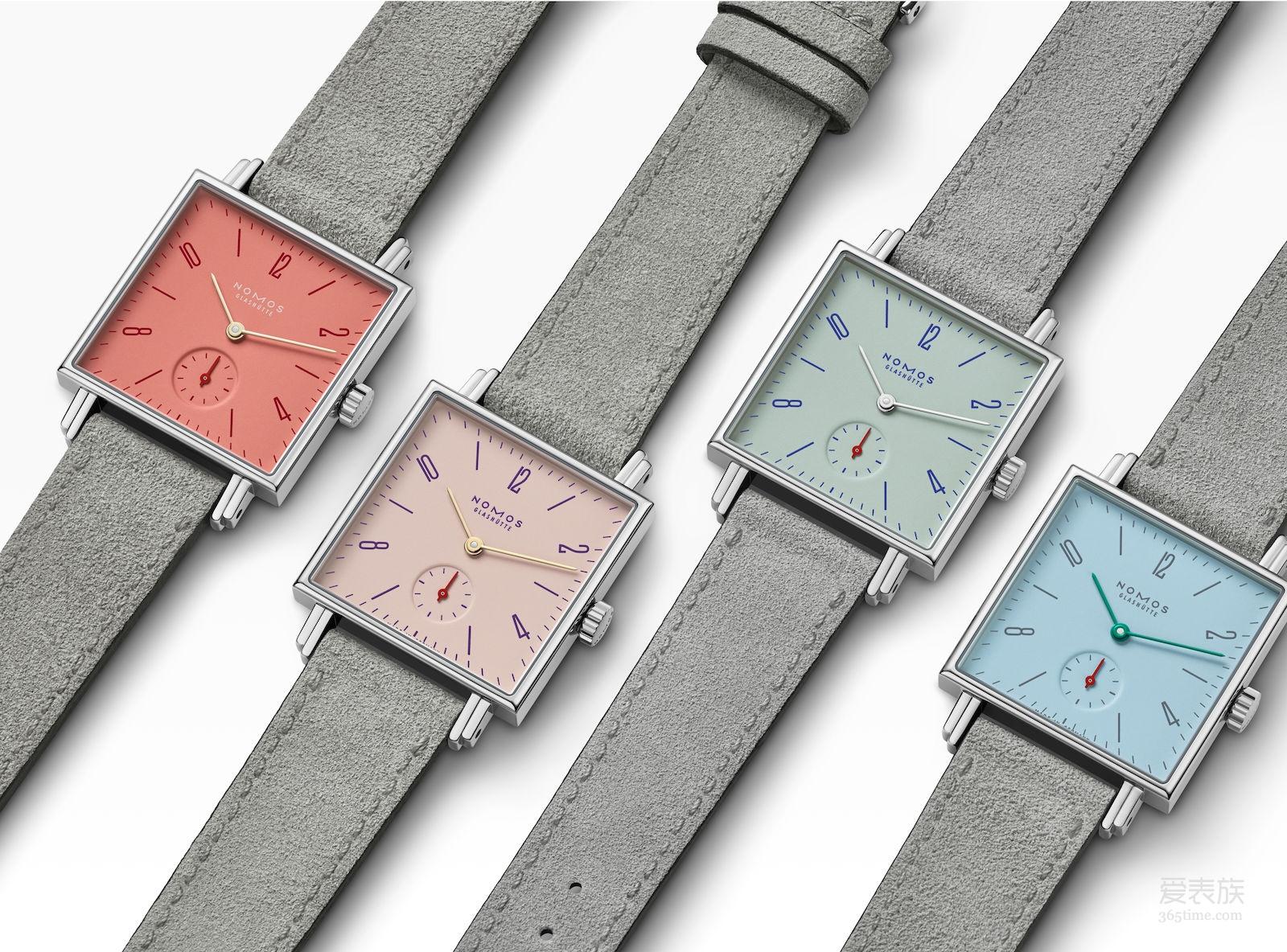 【2018巴塞尔表展】庆祝春天的到来 NOMOS Tetra Petit Four 腕表系列腕表