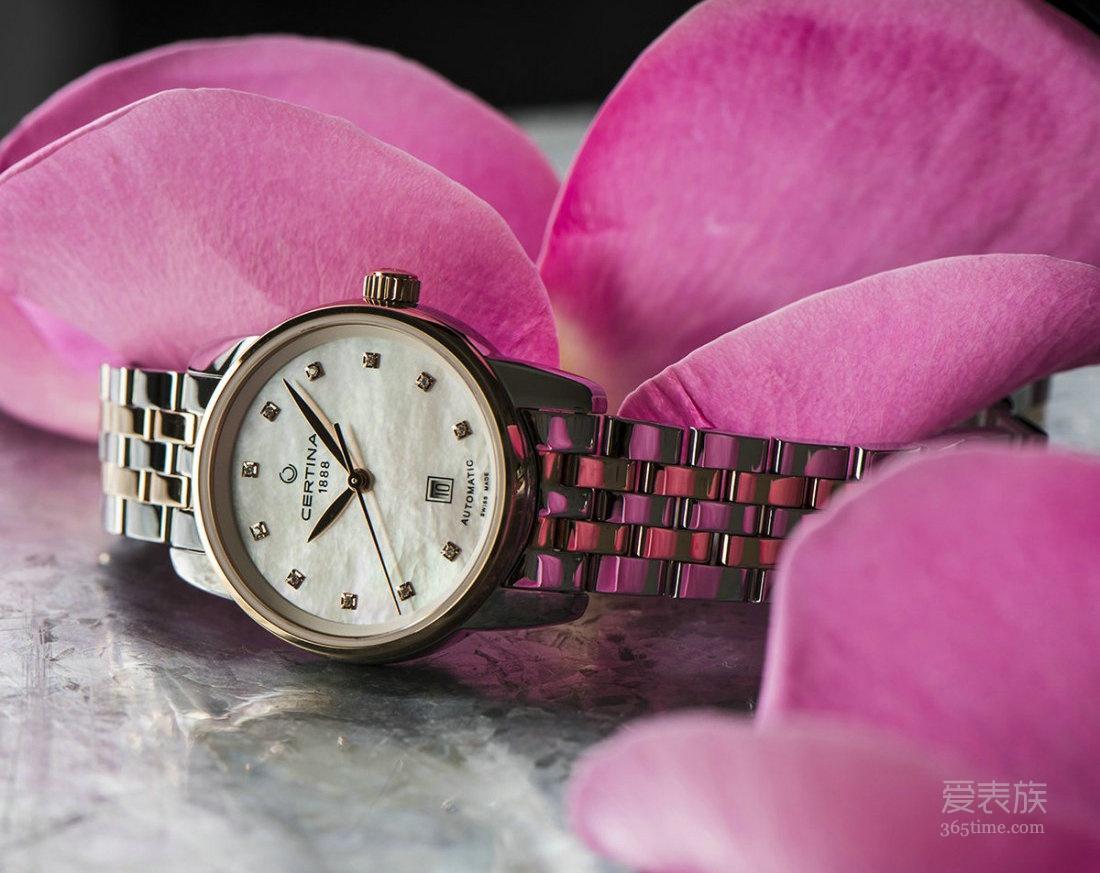 经典之作的现代演绎,品鉴雪铁纳DS Podium 冠军系列 29mm 女士自动腕表