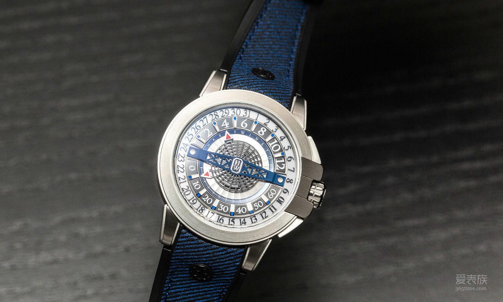 海瑞温斯顿全新Project Z12腕表