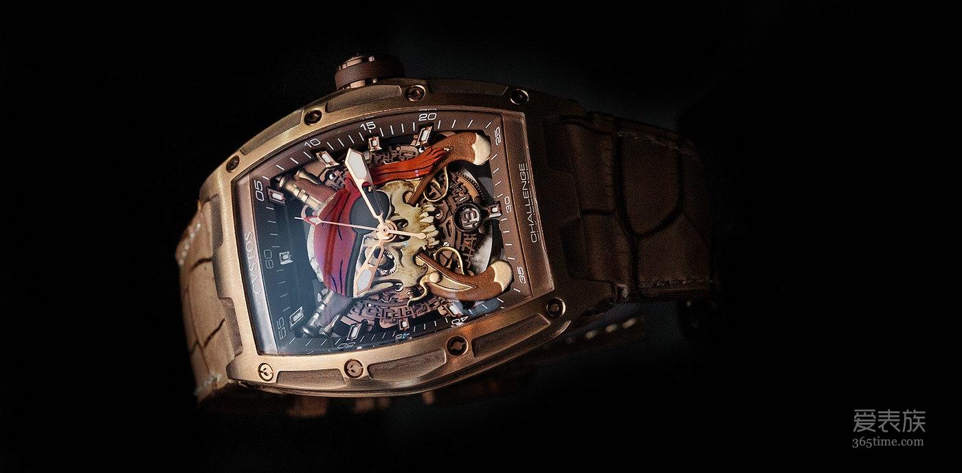 CVSTOS此次揭开了3款展现了品牌美伦美奂及精湛工艺相结合的腕表