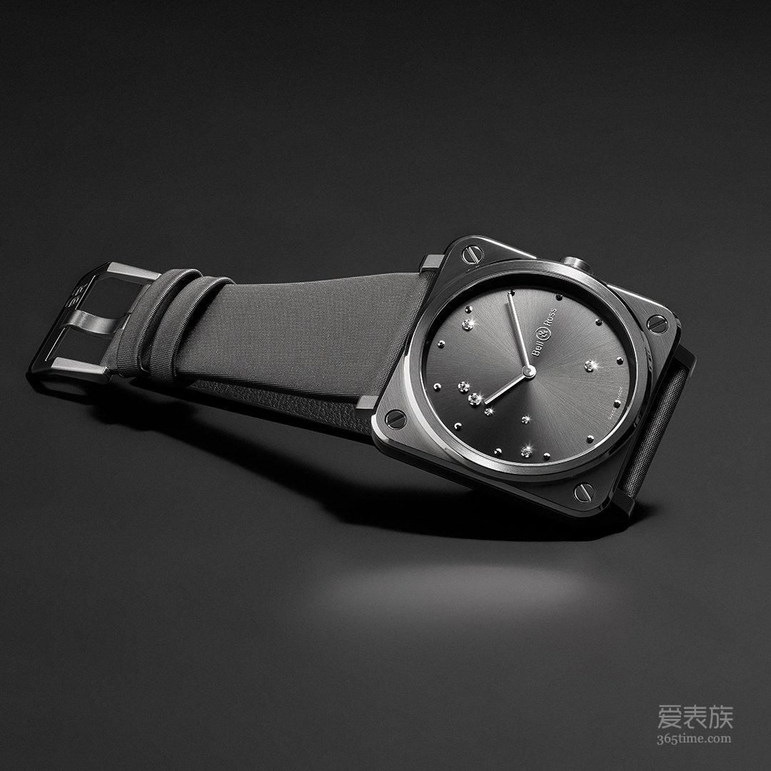 一路繁星:Bell & Ross BR S Diamond Eagle腕表