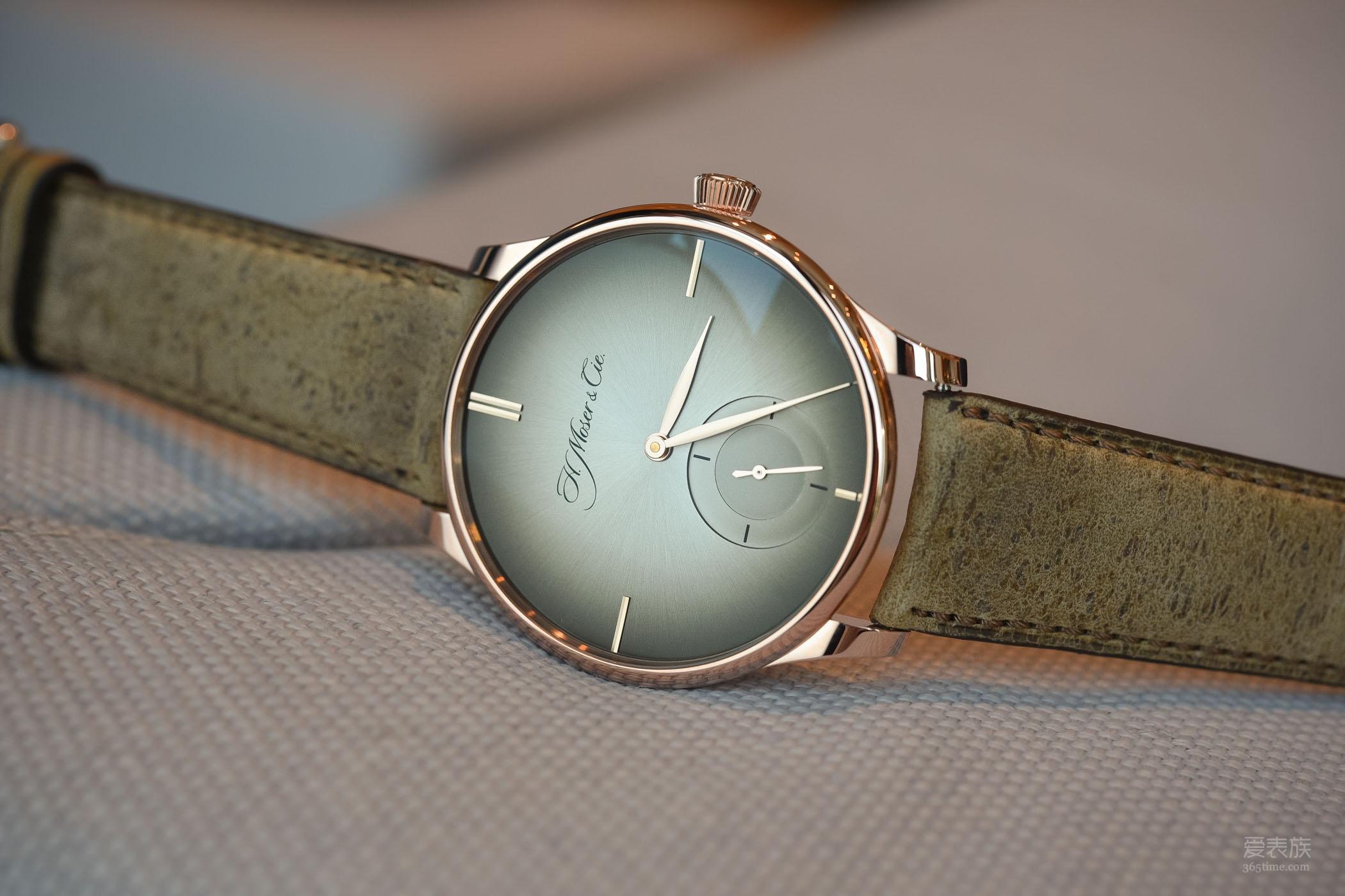 极简主义的别样低调——亨利慕时冒险者系列XL Purity小秒针腕表
