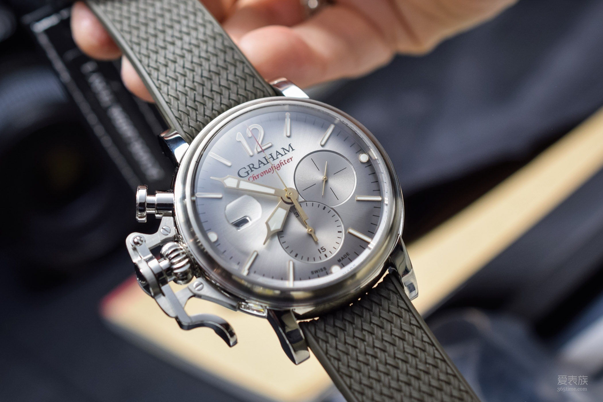我林汉姆又大回来了——格林汉姆Chronofighter系列Grand Vintage腕表