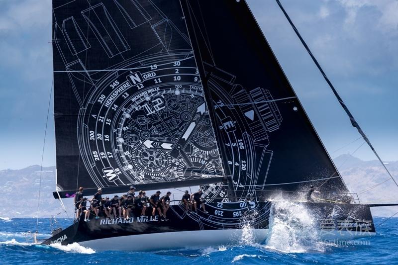 LES VOILES DE SAINT BARTH RICHARD MILLE帆船赛:惊心动魄的赛事,全力以赴的支持