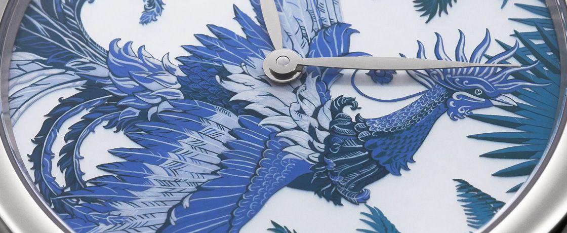 Hermès 爱马仕 Arceau Mythique Phoenix Coloriages 腕表