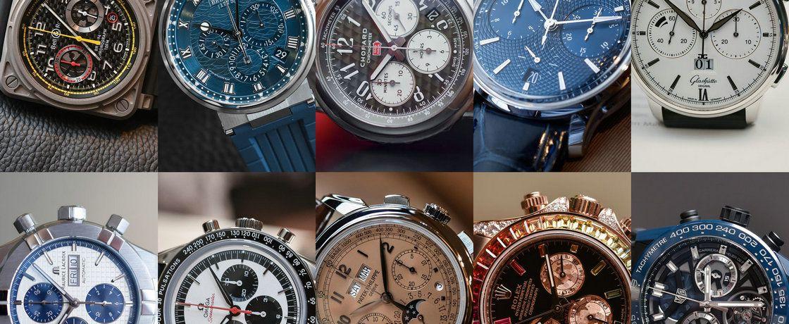 2018年巴塞尔表展上的10款优秀计时腕表