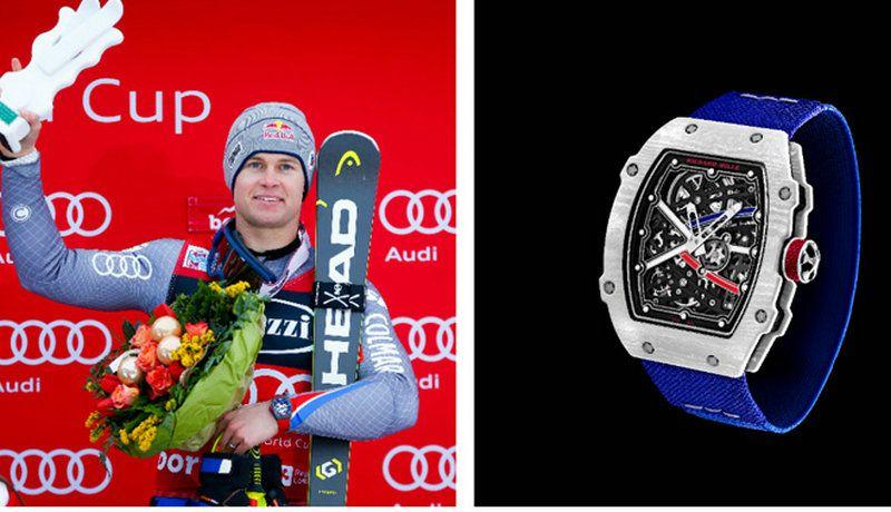 运动员的最佳伙伴 RICHARD MILLE RM 67-02腕表