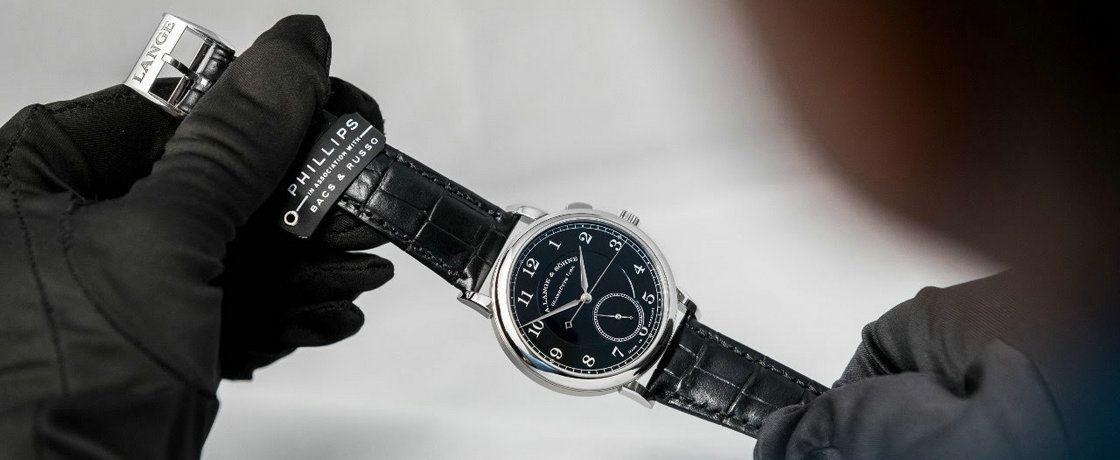 """拍卖史上最贵的朗格---1815 """"Homage to Walter Lange""""腕表"""