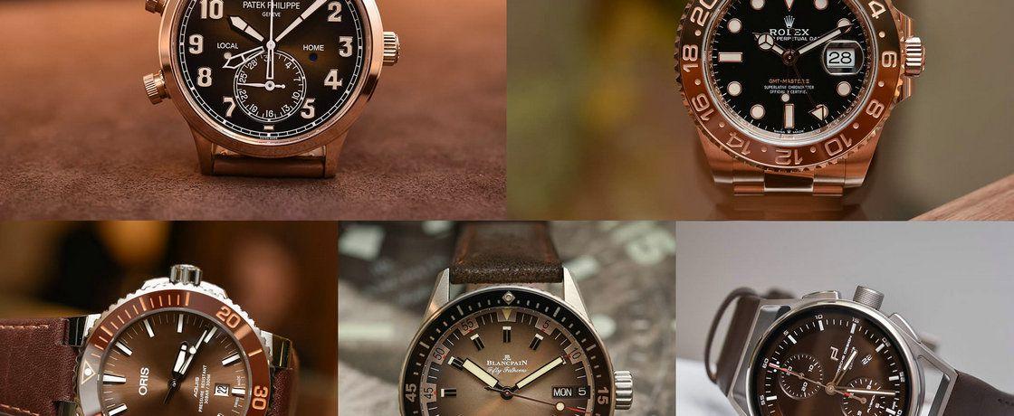2018年巴塞尔表展上最好看的棕色表盘手表汇总