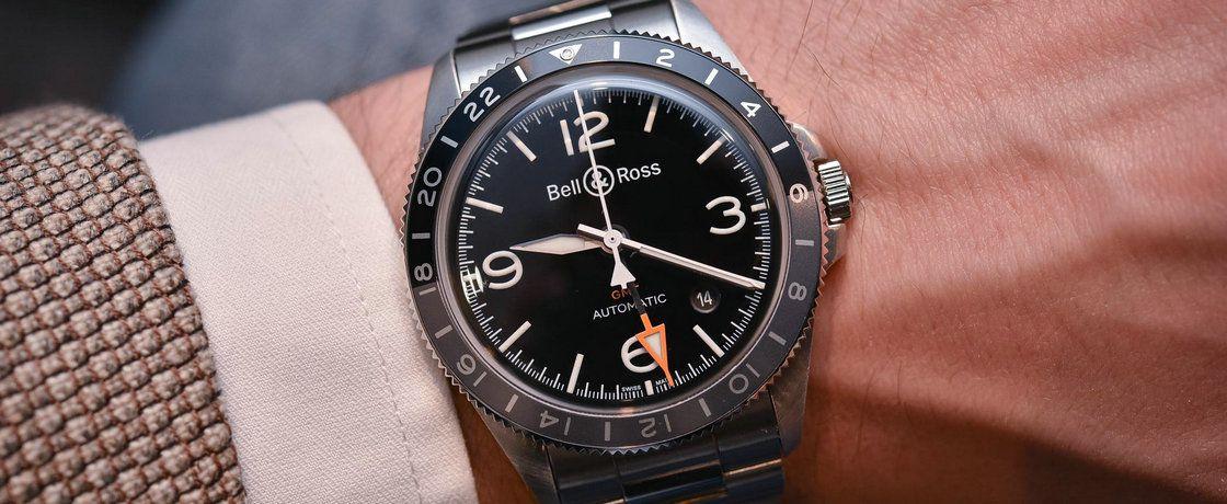 GMT技能get√——柏莱士Vintage系列BRV2-93 GMT腕表