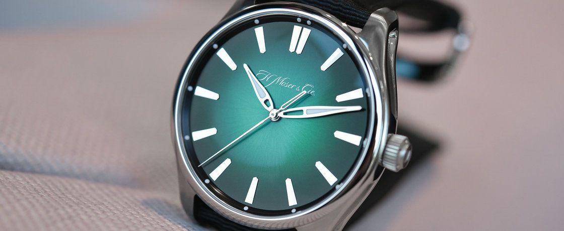运动宇宙绿上线——亨利慕时开拓者系列宇宙绿大三针腕表