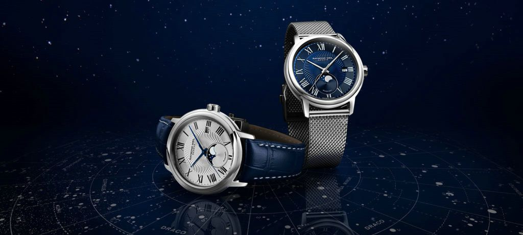 腕上璀璨恒星 雷蒙威全新经典大师月相腕表