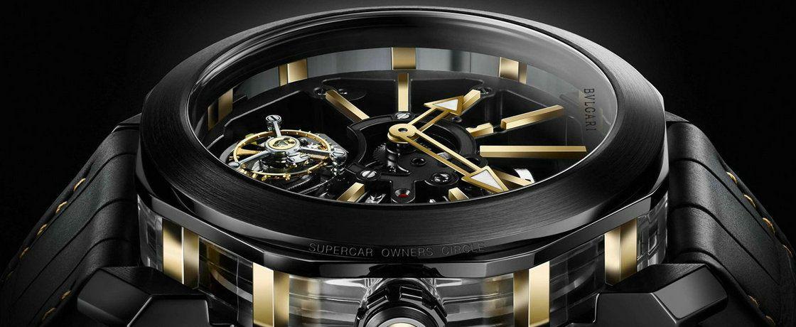宝格丽联手顶级超跑俱乐部SOC 为后者会员推出专属限量版手表