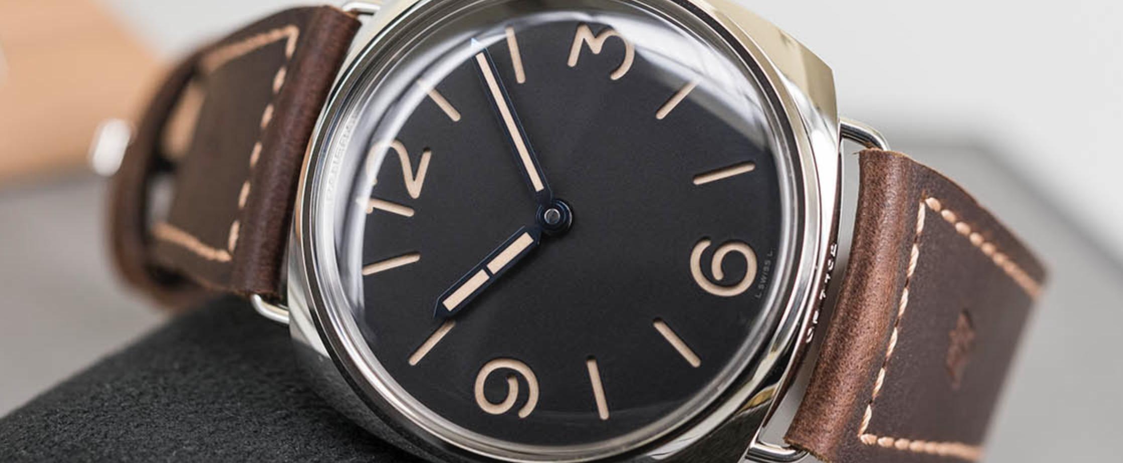 最忠实于原版的复刻腕表-沛纳海Luminor系列PAM00720和PAM00721