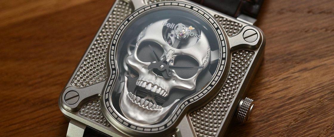人类一上链,骷髅就发笑——柏莱士BR-01发笑骷髅腕表