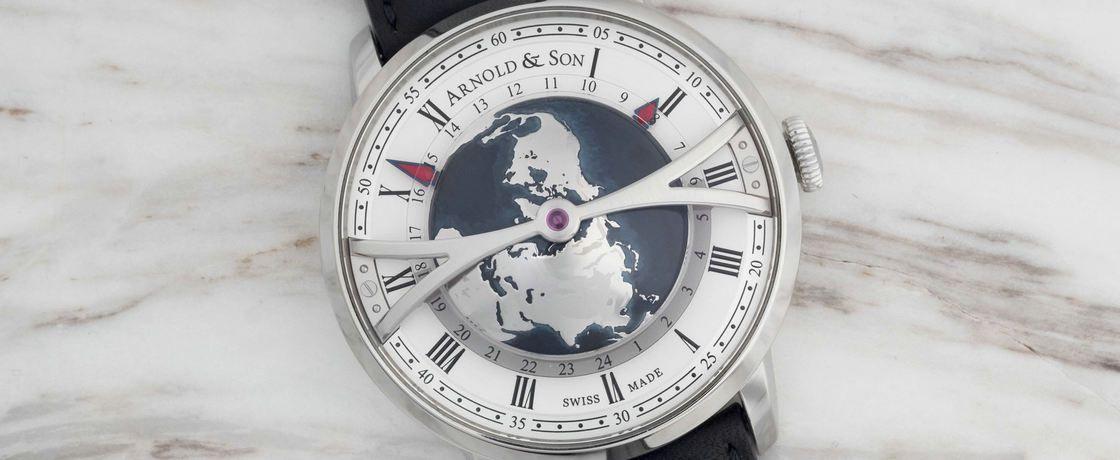 最大立体半球——亚诺Globetrotter世界时间腕表