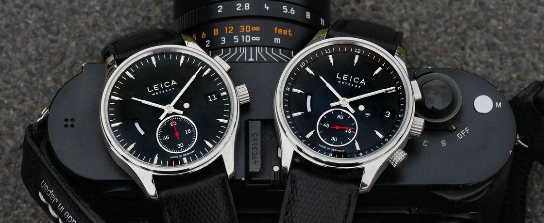 相机手表两手抓,徕卡走心带来迷之定价L1 & L2腕表