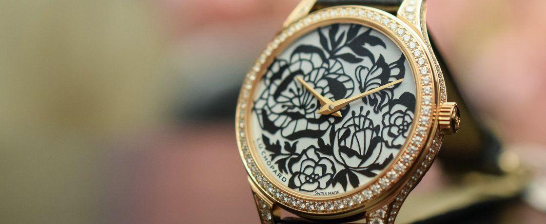 唯有牡丹真国色——萧邦L.U.C XP Esprit de Fleurier牡丹剪影腕表