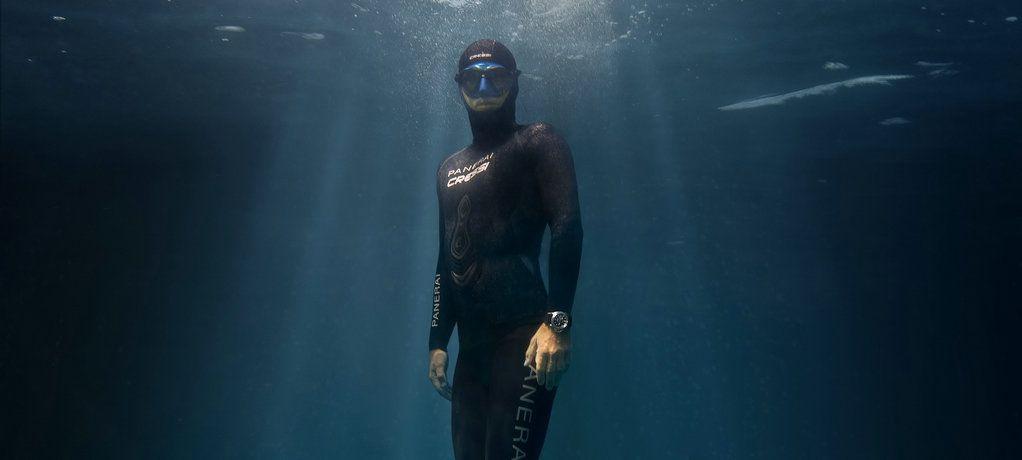 沛纳海宣布法国恒重自由潜水冠军GUILLAUME NÉRY成为全球品牌大使