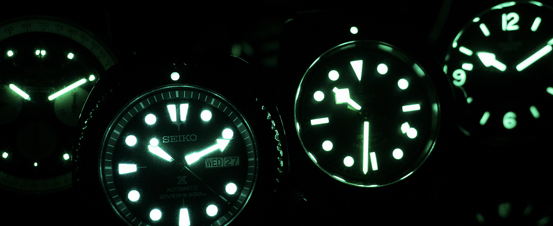 能发光的夜光表盘之间都有什么差异?浅谈夜光手表的发光原理和进化史