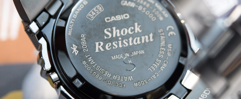 卡西欧超热夏日不锈钢腕表来袭:G-Shock GMW-B5000,抢晚就没!