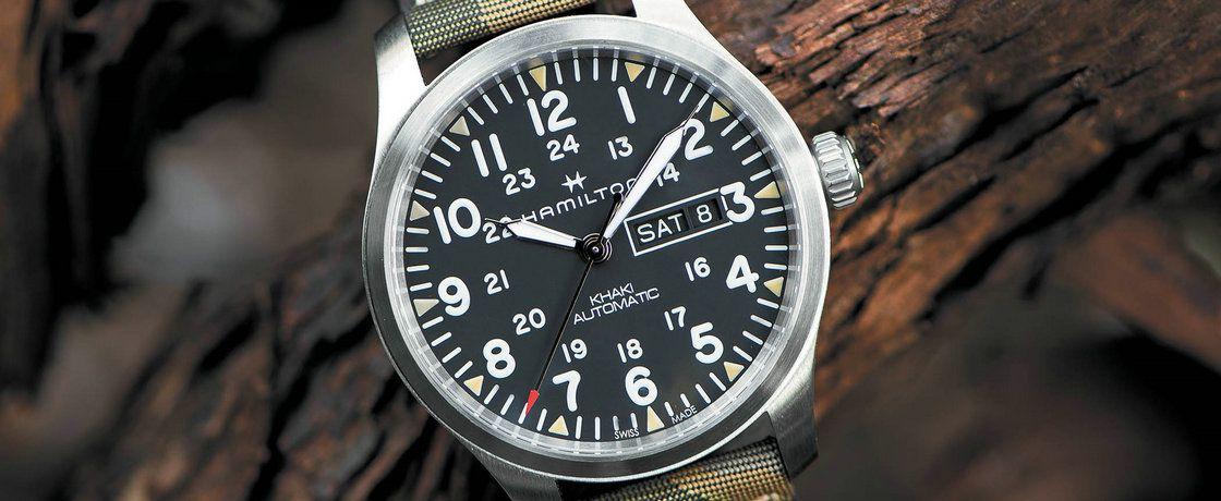 激发你的下一次冒险——汉米尔顿卡其野战系列Camouflage腕表