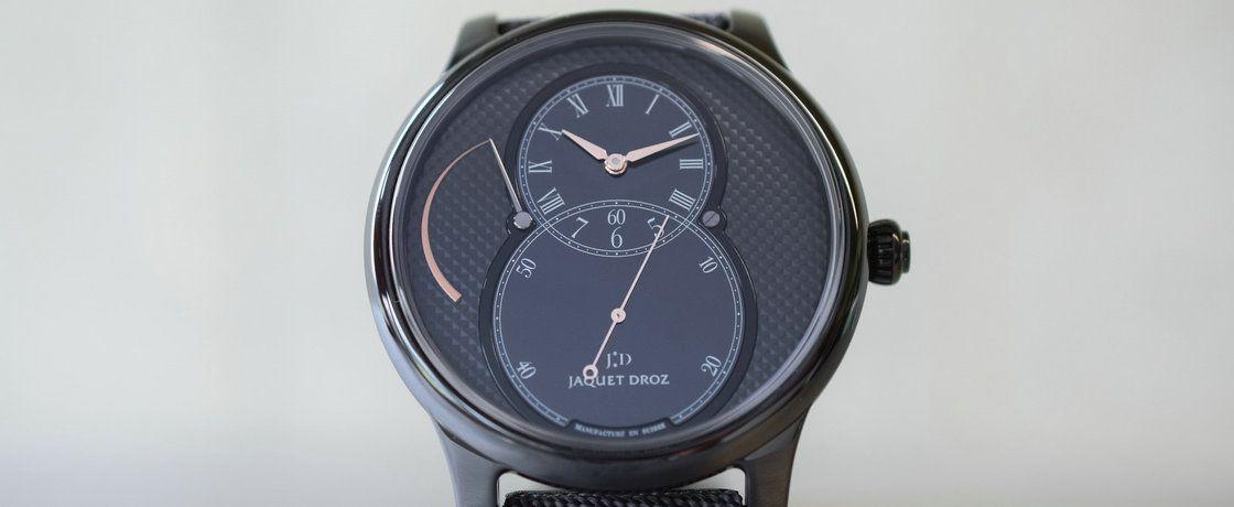 陶瓷巴黎钉2.0——雅克德罗大秒针系列动力储备陶瓷腕表