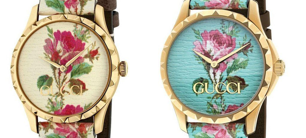 Gucci腕表献上璀璨新品让您缤纷盛夏,华丽出行
