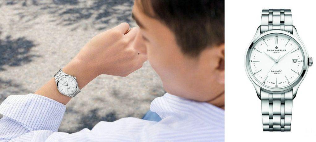 """夏日心情,巧""""芯""""搭配 名士克里顿系列Baumatic™腕表腕间点睛"""
