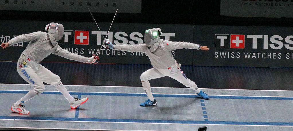 这一刻 创造下一刻 天梭表记录2018年世界击剑锦标赛的精彩对决