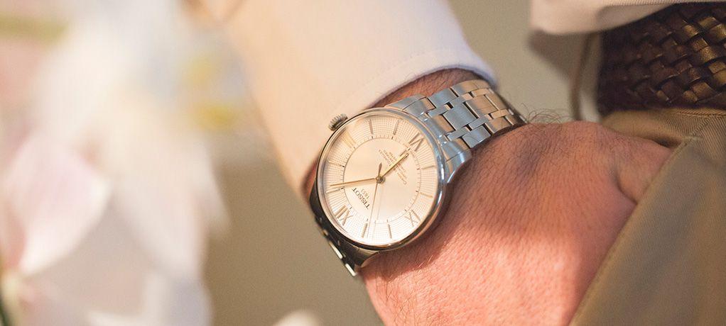 这一刻 创造下一刻 天梭表与您一起见证婚礼幸福时刻