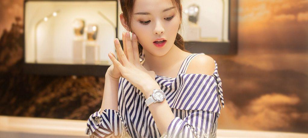 《创造101》率真女孩杨超越,佩戴宝齐莱腕表呈现别样典雅味道