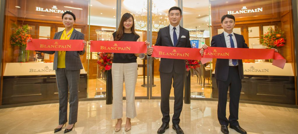宝珀Blancpain太原专卖店盛大开幕 缔造龙城顶级腕表品牌新地标