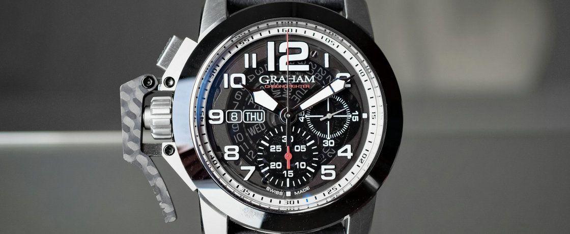 目标:前卫——格林汉姆Chronofighter系列Target腕表